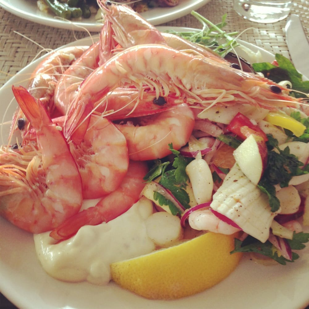 Seafood buffet at the brasserie restaurant stamford plaza for Fish restaurant stamford