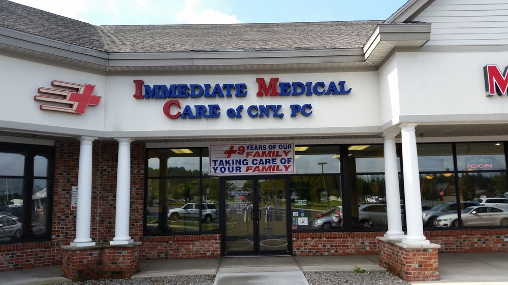 Immediate Medical Care Of Cny: 8240 Cazenovia Rd, Manlius, NY