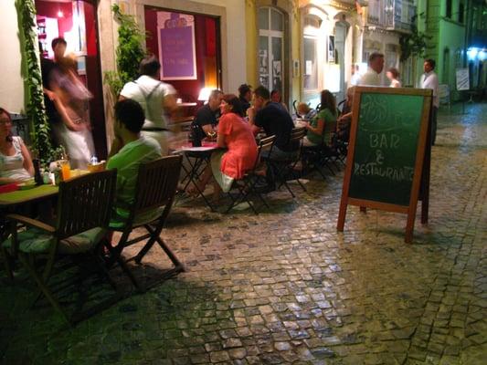 Restaurant Abstracto Food Rua Antonio Cabreira N 34 Tavira