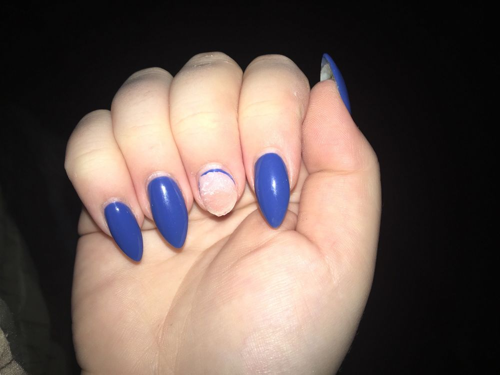 Nail came off after six days - Yelp