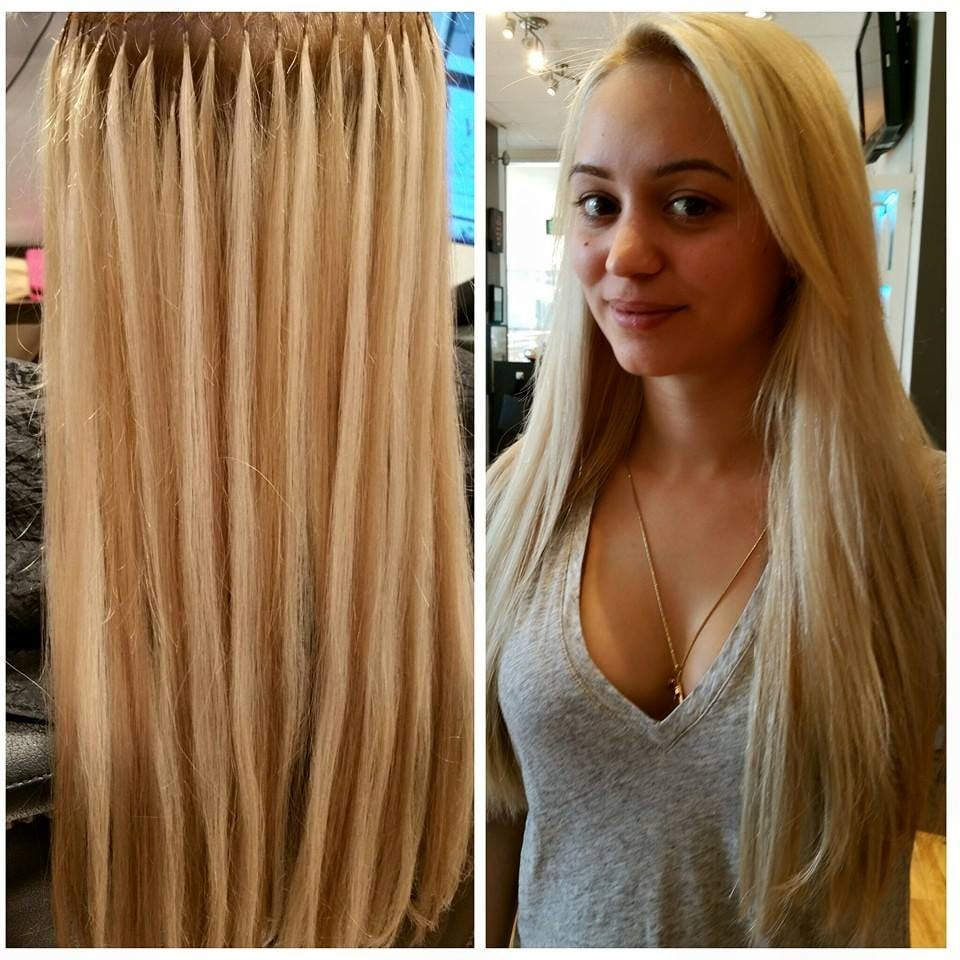 Hairdreams Hair Extensions Mixed European Hair Fusion Method Yelp
