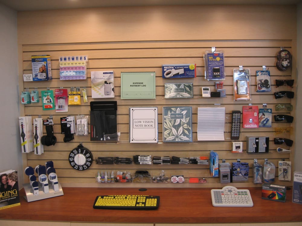 Assistive Products Offered At The San Diego Center For The