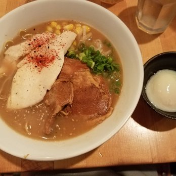 Miso Ramen With Pork Belly And Onsen Egg Yelp