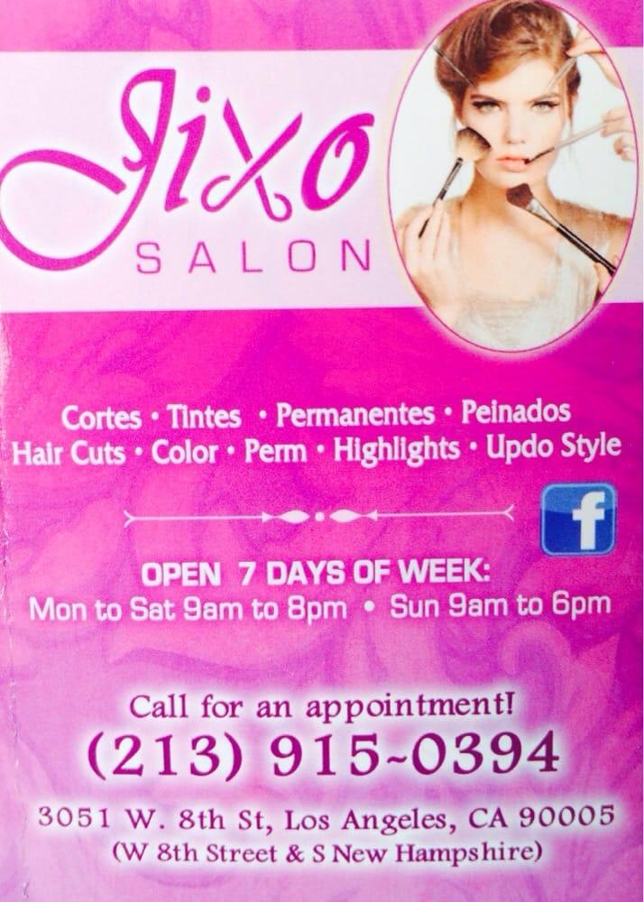 Jixo Salon: 3051 W 8th St, Los Angeles, CA