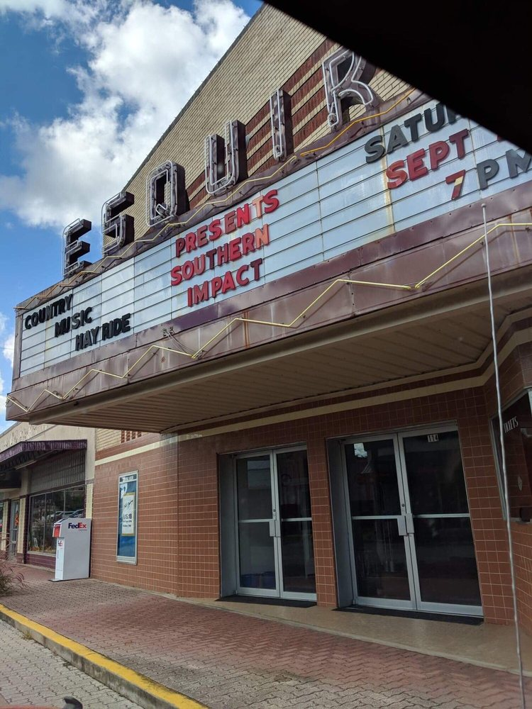 Esquire Theater: 114 W Sabine St, Carthage, TX