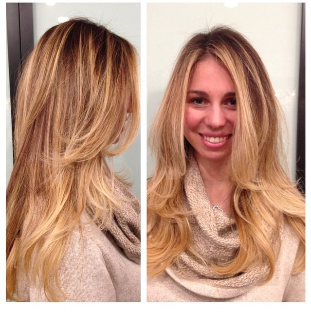 Victoria Secret Balayage By Jonathan And Haircut And Style By Abel