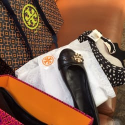 Photo of Tory Burch - Ontario, CA, United States. Flat shoes and polka