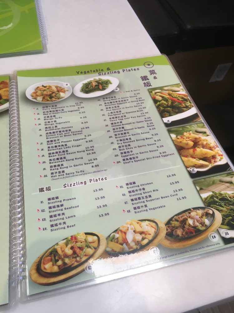 New Penang Garden Menu Yelp