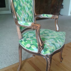 Photo Of Franku0027s Upholstery   Denver, CO, United States. Upcycled Vintage  Chair.