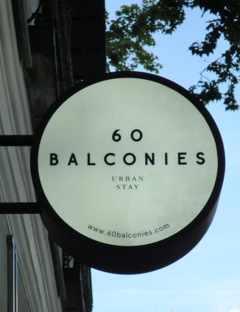 60 BALCONIES