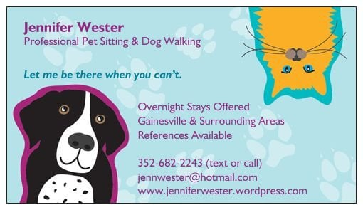 Jenn S Pet Sitting Amp Dog Walking Service Pet Sitting