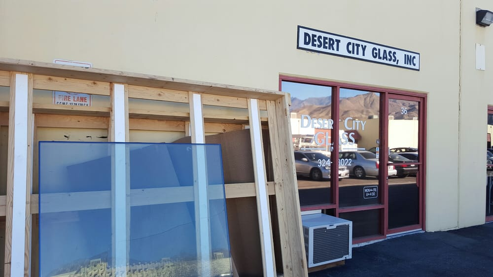 Desert City Glass Windows Installation 68743 Perez Rd Cathedral