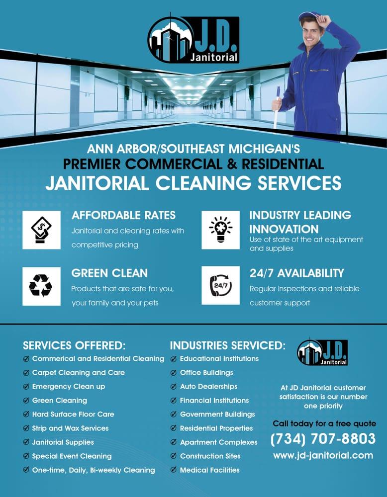 janitorial advertising