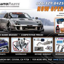 Dc Auto Parts Auto Parts Supplies 20056 E Arrow Hwy Covina