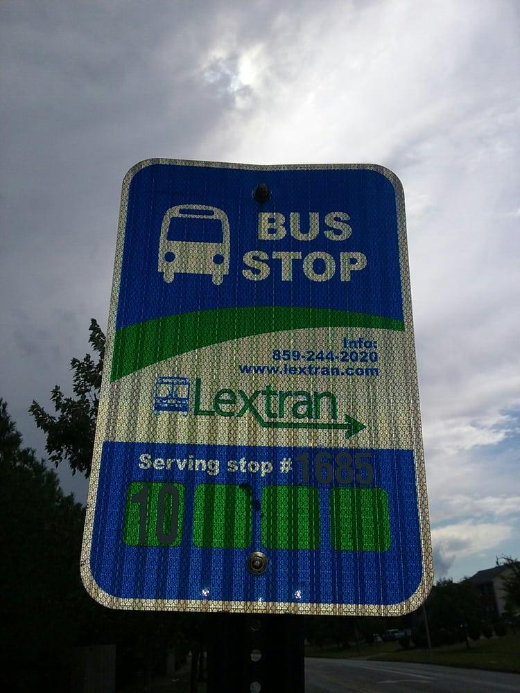 Lextran Bus Stop 1685: Fortune Dr, Lexington, KY