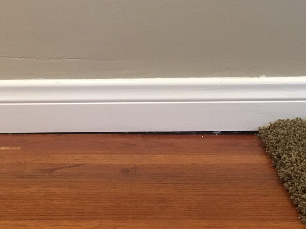 1 4 Quot Gap Left From Baseboard Install As It Transitions