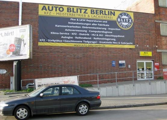 Blitz Umzüge Berlin auto blitz berlin haus garten tempelhofer weg 101 britz
