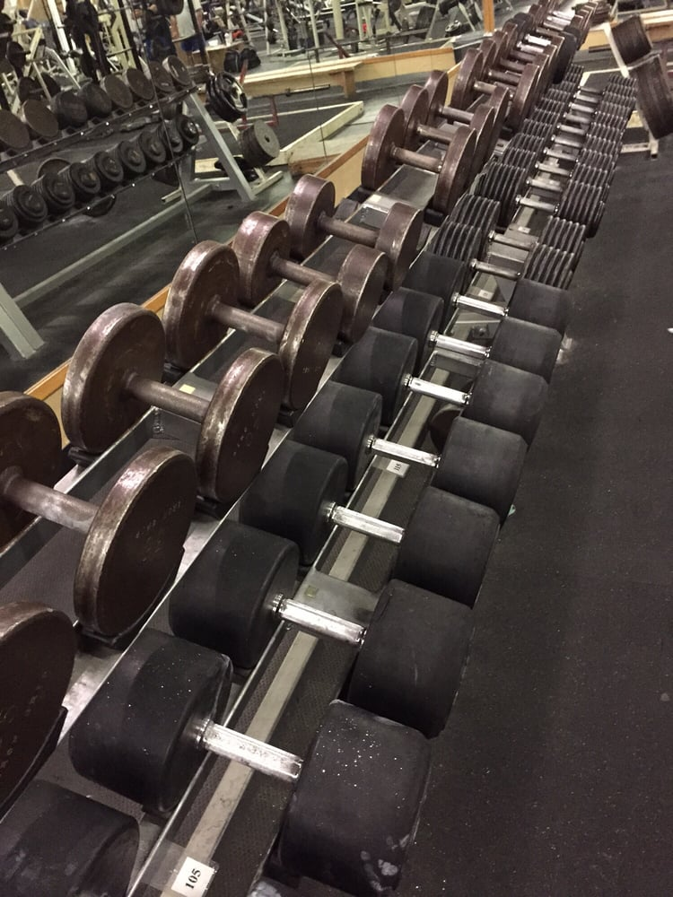 Weight room reviews gyms w hefner rd