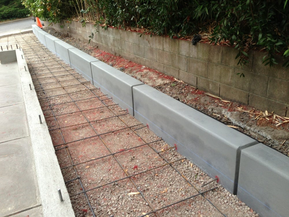 Gallery For Concrete Retaining Wall