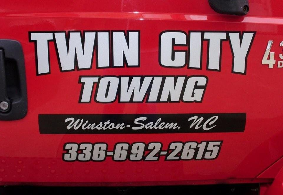 Towing business in Winston-Salem, NC