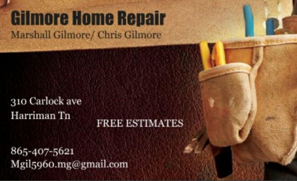 Gilmore Home Repair: 310 Carlock Ave, Harriman, TN