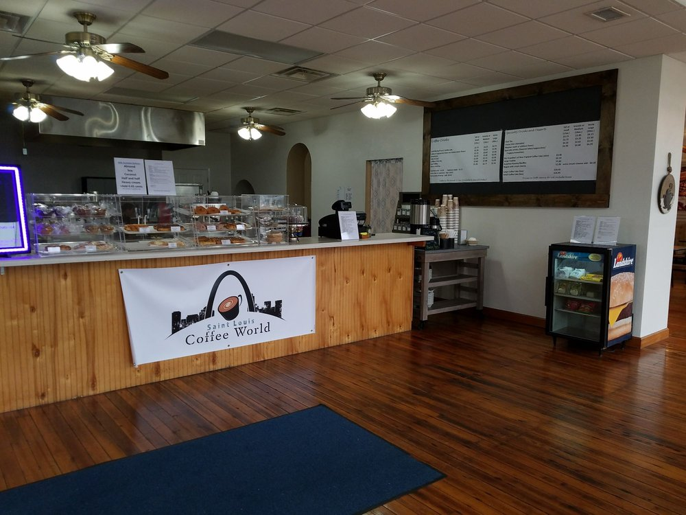 St. Louis Coffee World: 200 E Main St, Mascoutah, IL