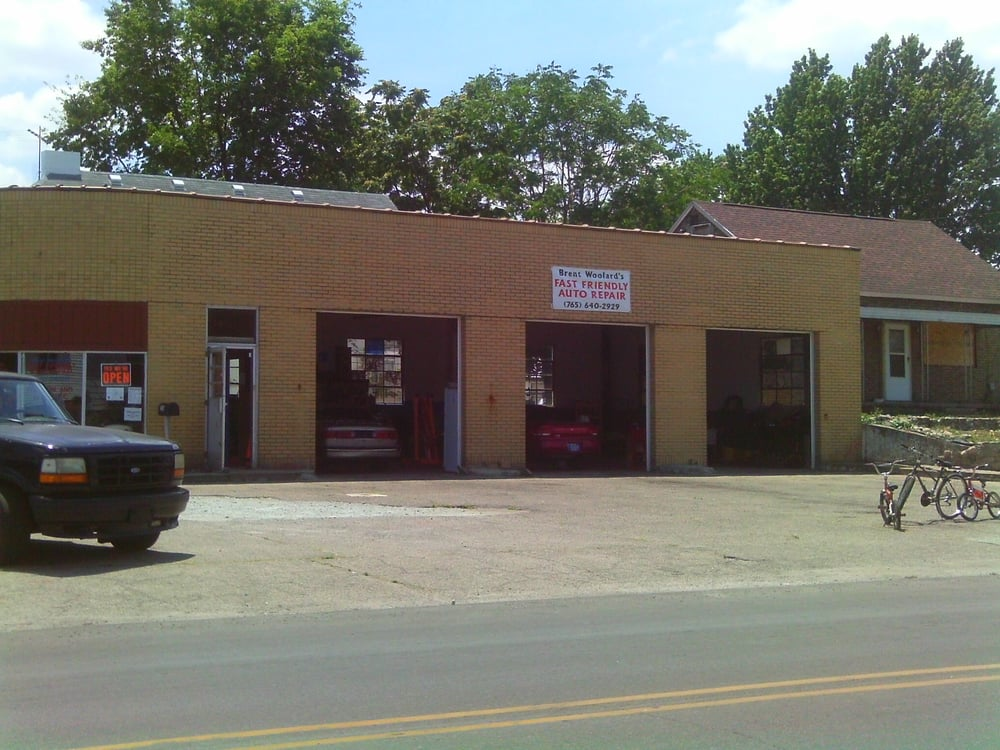 Brent Woolard's Fast Friendly Auto Repair: 2303 Noble St, Anderson, IN
