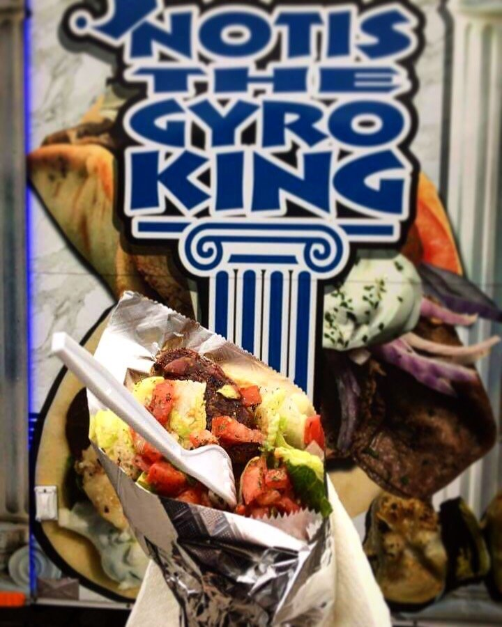 Notis the Gyro King: 309 - Kmart Parking Lot, Wilkes-Barre, PA