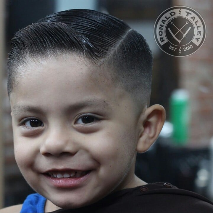 Kids haircut by Ron Talley  Yelp