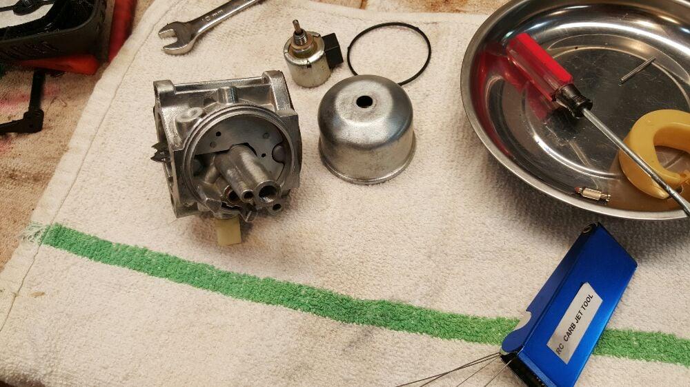 Carburetor cleaning and repair  - Yelp