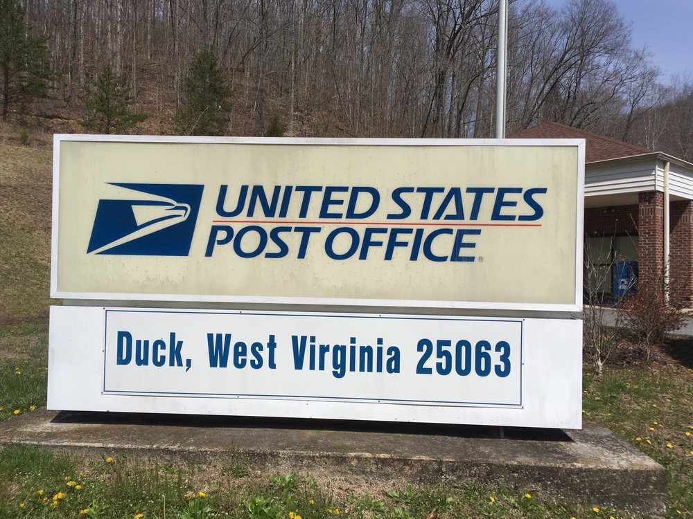 Government Post Office: 803 Duck, Duck, WV