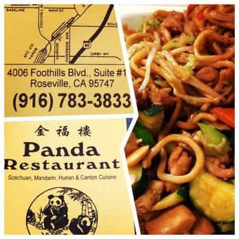 Panda Chinese Restaurant Roseville Ca