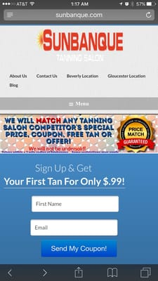 Sunbanque 45 Enon St Beverly Ma Tanning Salons Mapquest