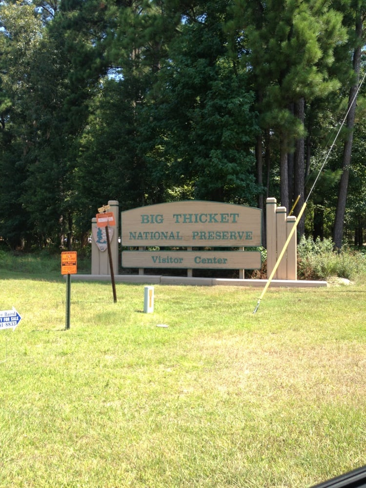 Big Thicket National Preserve Visitor Center: 6102 Fm 420, Kountze, TX