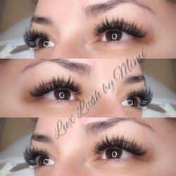 d698a5235fa Photo of Lux Lashes and Brows - Anaheim, CA, United States. Wispey volume.  Wispey volume set