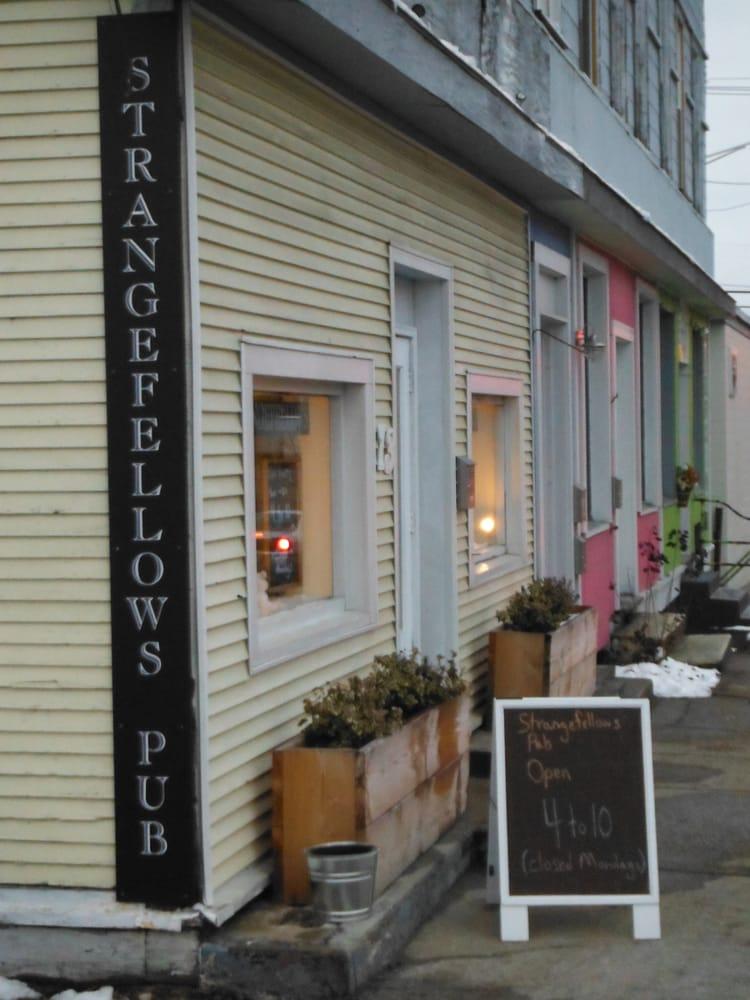Social Spots from Strangefellows Pub