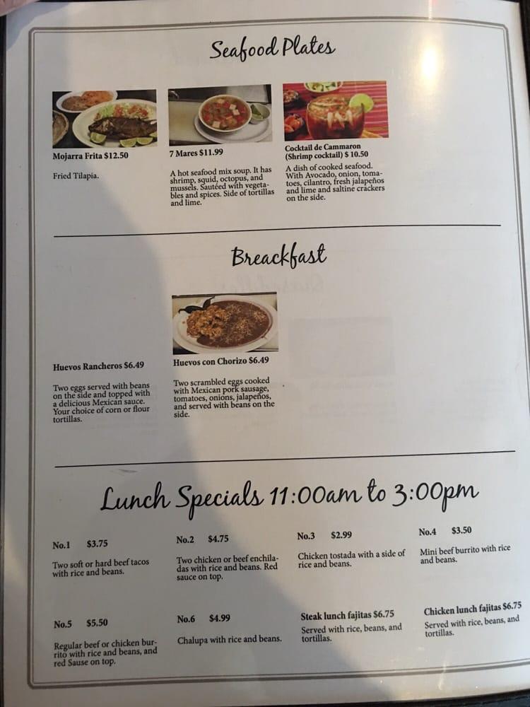 Cabrera's Mexican Restaurant: 1402 Main St, Rock Valley, IA