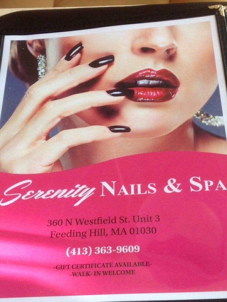 Serenity Nails & Spa - Nail Salons - 360 N Westfield St, Feeding ...