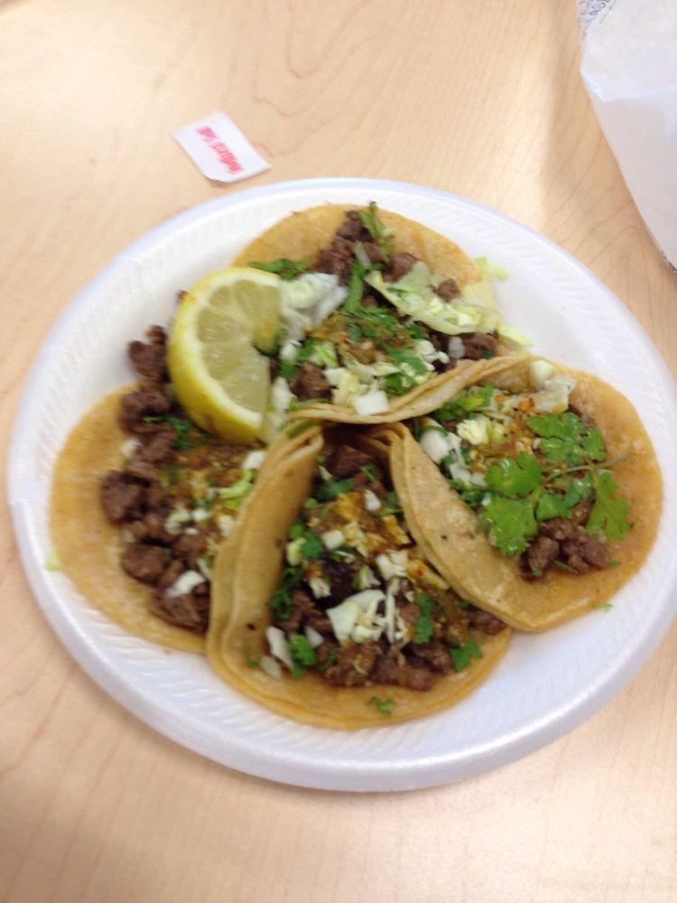 La Mexicana Taco truck: 13025 E Shaw Ave, Sanger, CA