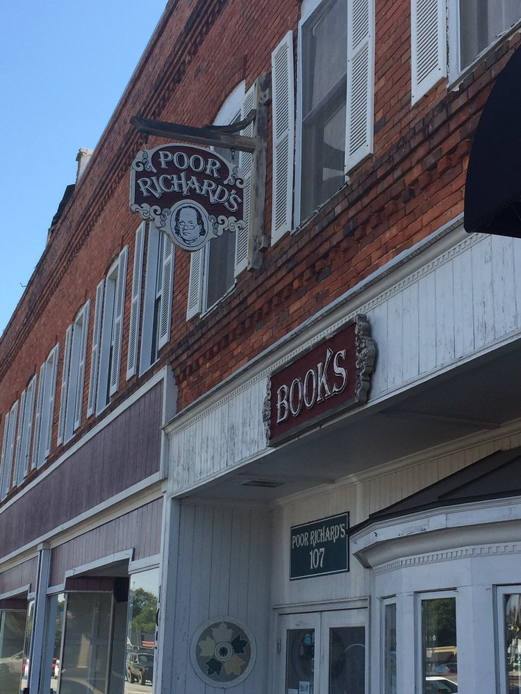 Poor Richard's Booksellers and Stationers: 107 W Main St, Easley, SC