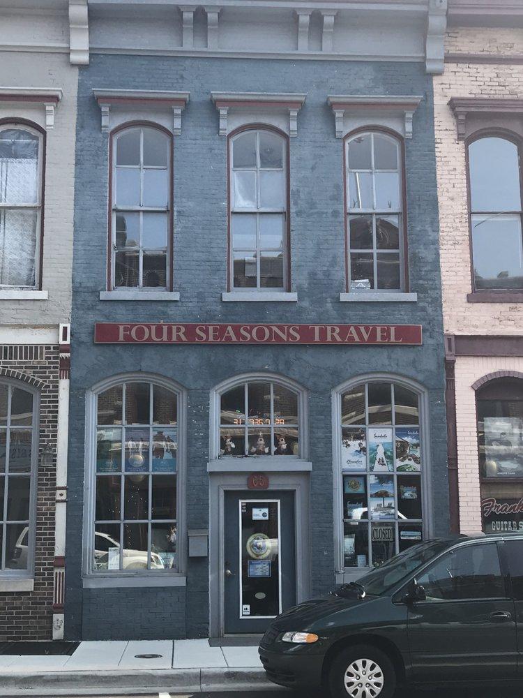 Four Seasons Travel Agency: 65 E Jefferson St, Franklin, IN