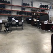 office furniture outlet 21 photos office equipment 5595 raby rh yelp com  office furniture price