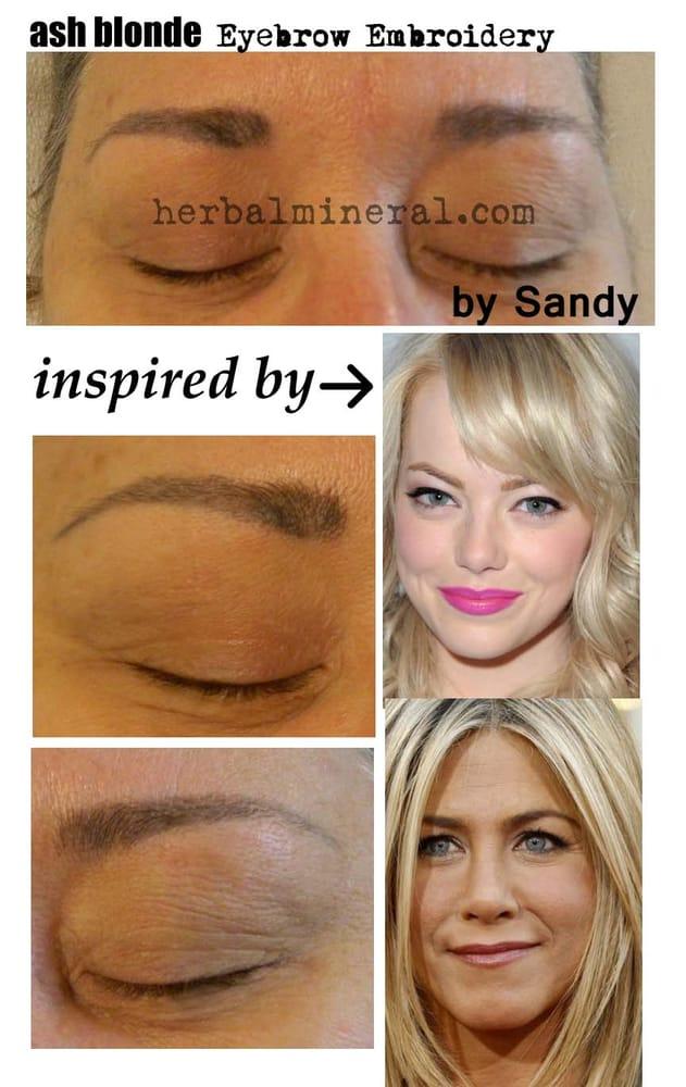 Ash Blonde Eyebrows Yelp