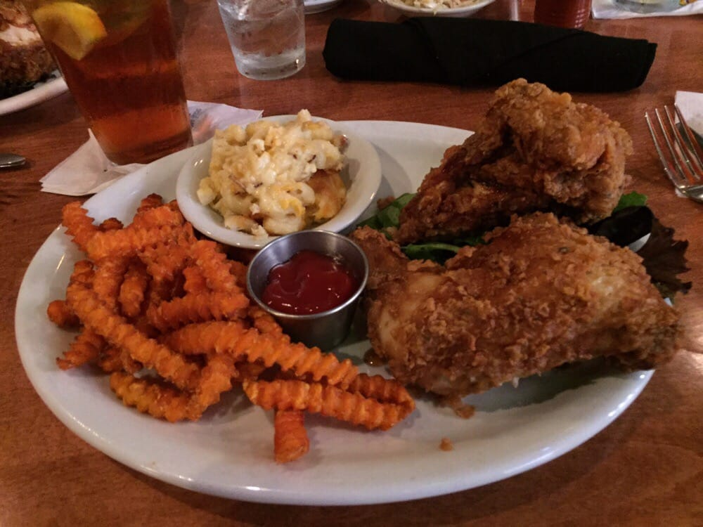 fried chicken mac n cheese and sweet potato fries yelp. Black Bedroom Furniture Sets. Home Design Ideas