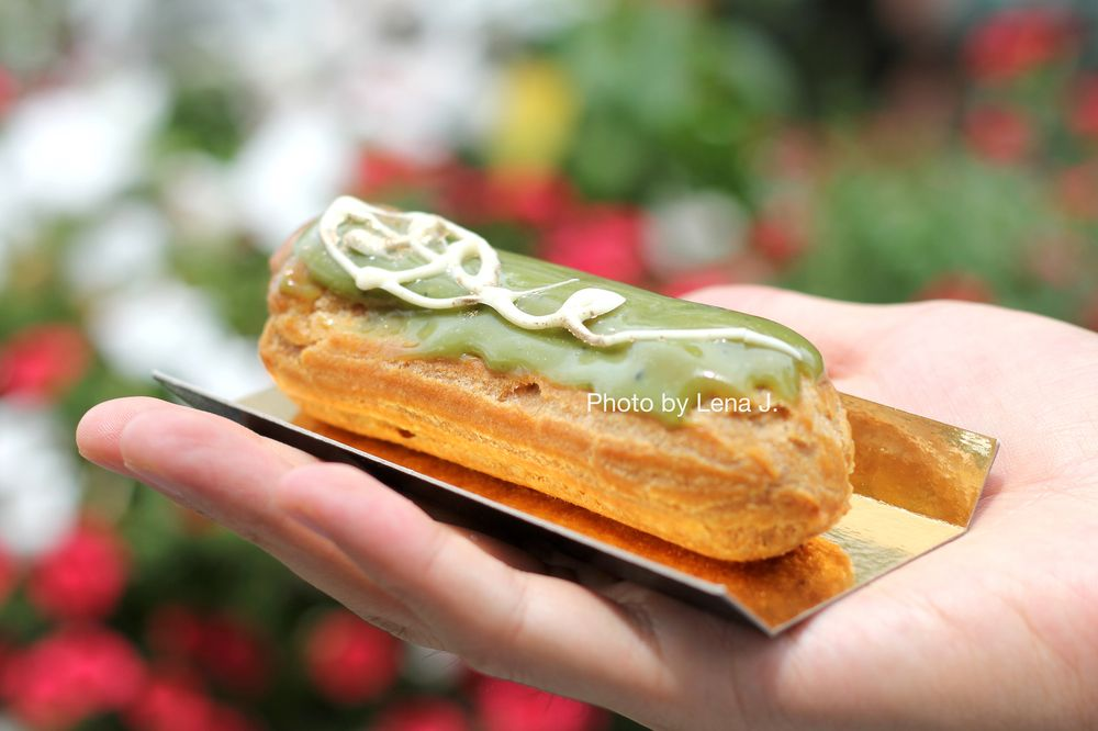 Food from Eclair Cafe