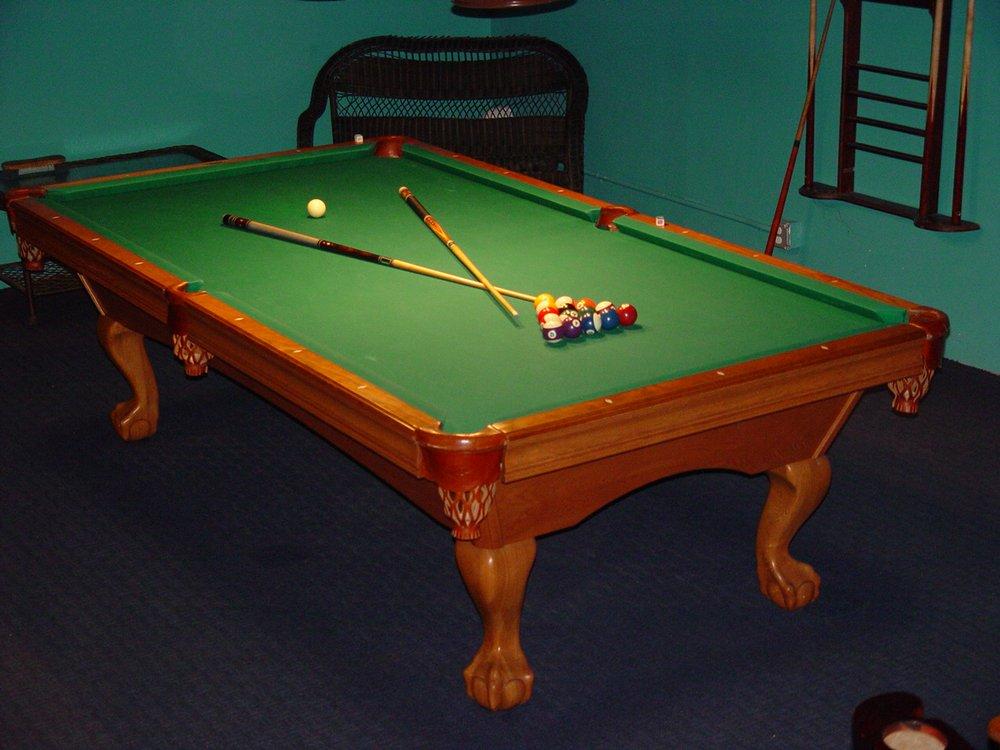 Brunswick Bradford II Tight Pocket Table With Triple Shims Is - Brunswick bradford pool table
