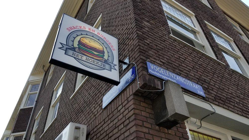 Snackbar Het Hoekje: Warmondstraat 132h, Amsterdam, NH