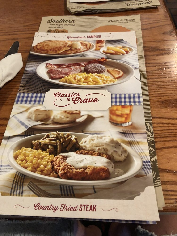 Cracker Barrel Old Country Store: 1101 Charleston Ave E, Mattoon, IL