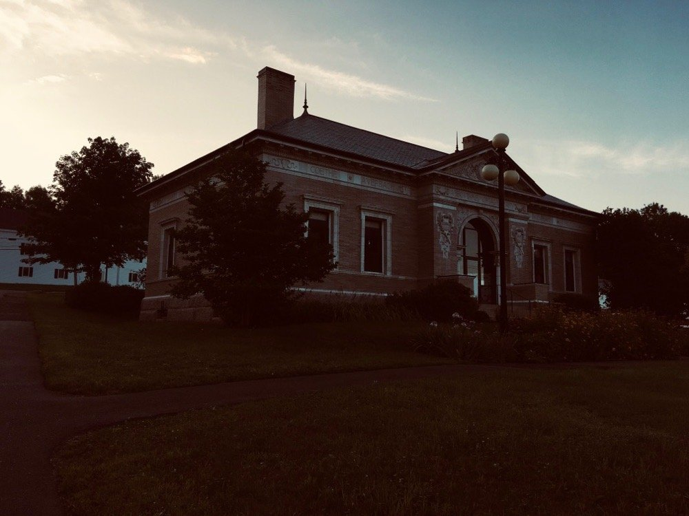 Abbotts Memorial Library: Church, Dexter, ME