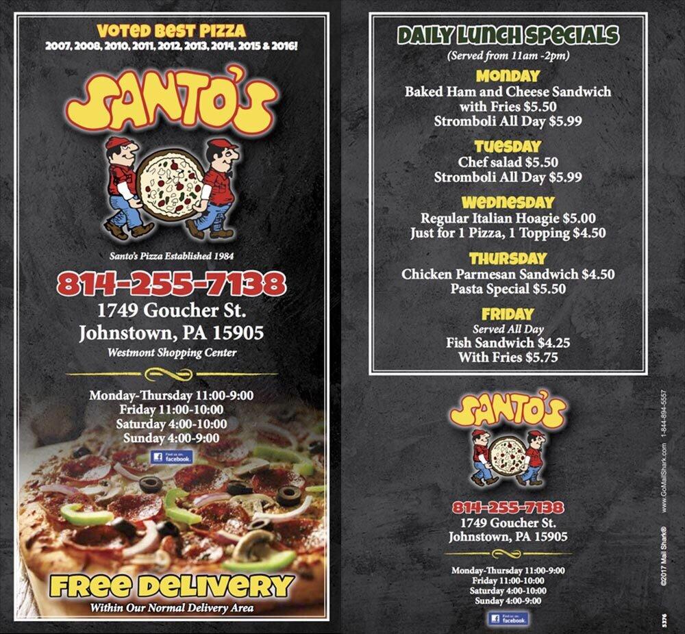 Santo's Pizza